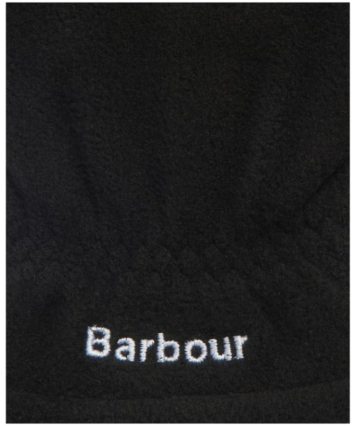 Men's Barbour Coalford Fleece Gloves - Black