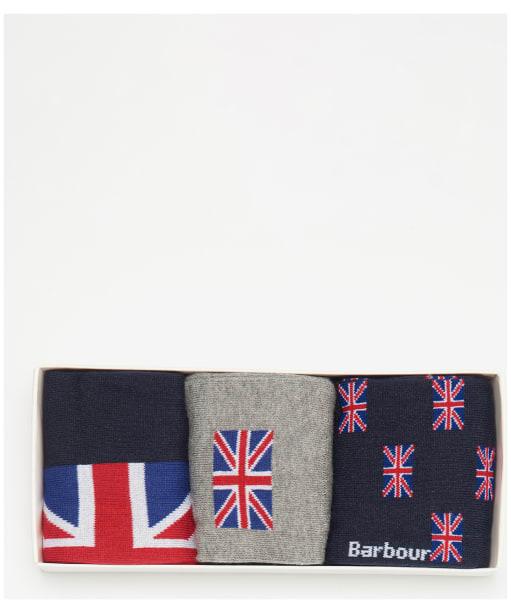 Men's Barbour Union Jack Sock Gift Set - Union Flag
