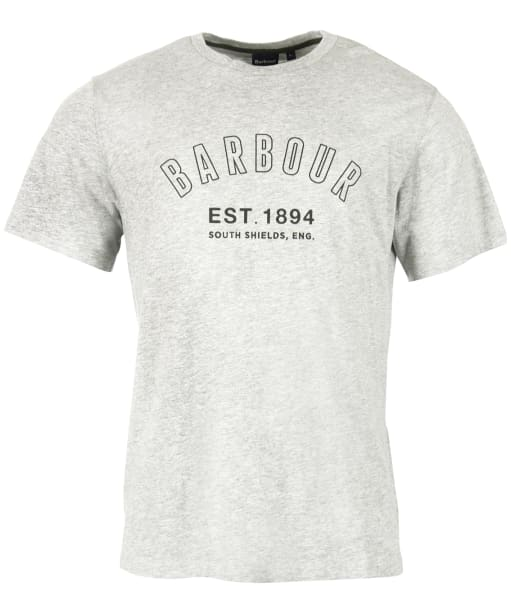 Men's Barbour Calvert Tee - Light Grey Marl