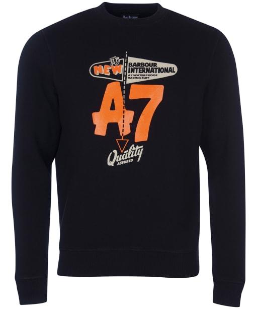 Men's Barbour International Legacy A7 Sweater - Black