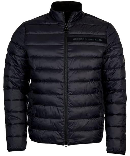 Men's Barbour International Slipstream Borough Baffle Quilt - Black