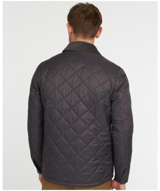 Men's Barbour Shirt Quilt - Asphalt