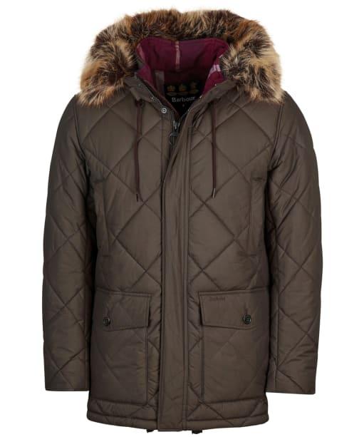 Men's Barbour Holburn Quilted Jacket - Rustic