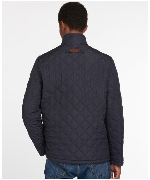 Men's Barbour Levisham Quilted Jacket - Navy