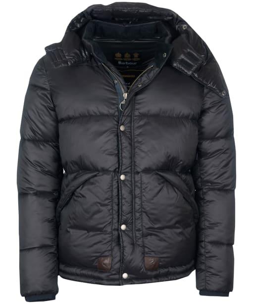 Men's Barbour Gold Standard Everest Quilted Jacket - Matt Black