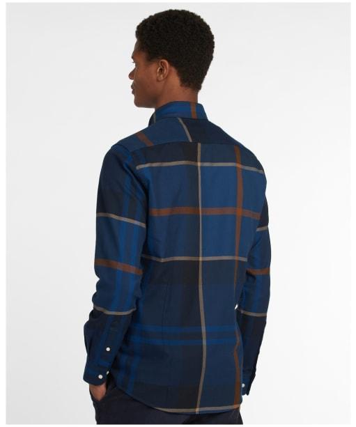 Men's Barbour Dunoon Tailored Shirt - MIDNIGHT TARTAN