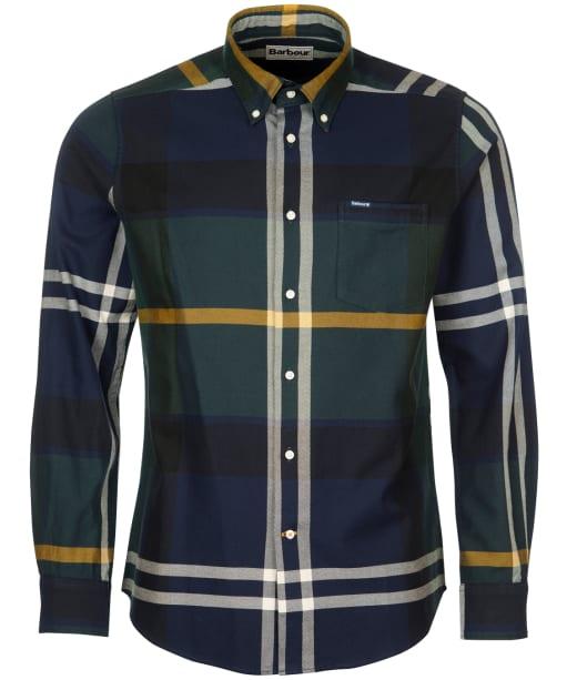Men's Barbour Dunoon Tailored Shirt - Seawood Tartan