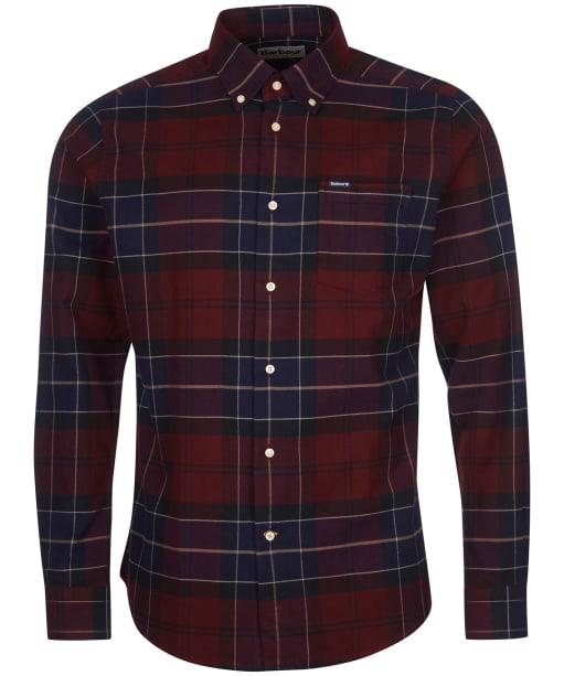 Men's Barbour Lutsleigh Shirt - Merlot Check