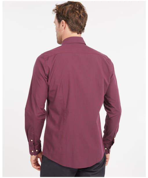 Men's Barbour Tunbridge Tailored Shirt - Ruby