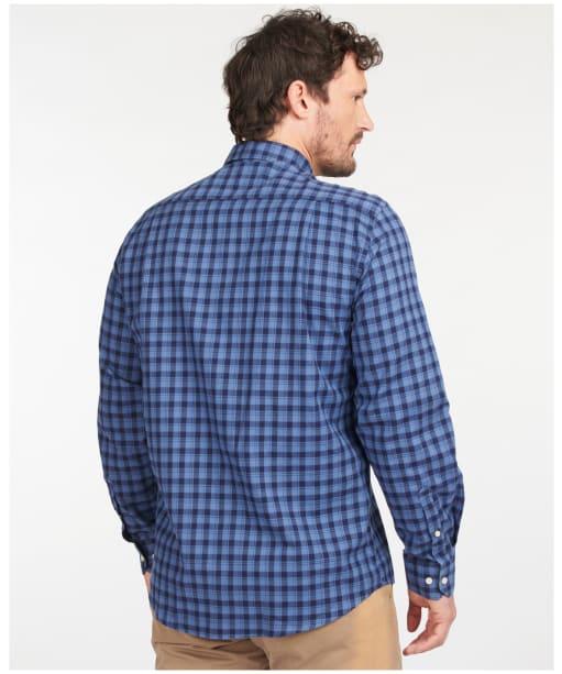 Men's Barbour Lowfell Regular Fit Shirt - Blue Check