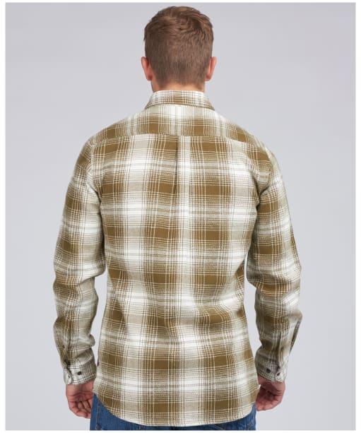 Men's Barbour International Steve McQueen Kit Check Shirt - Military Brown Check