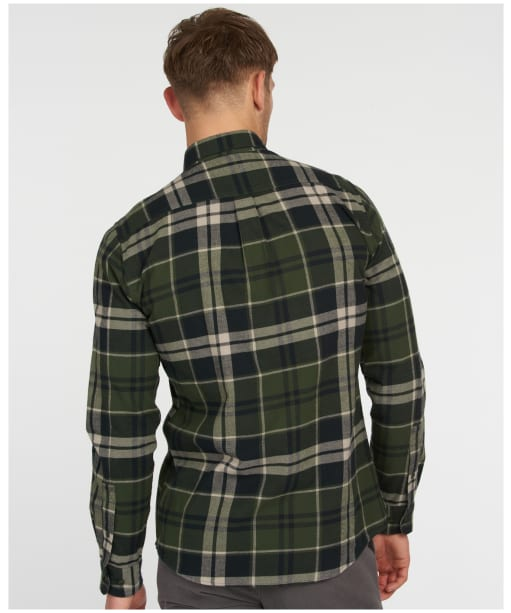 Men's Barbour Bidston Shirt - RIFLE GREEN CHK