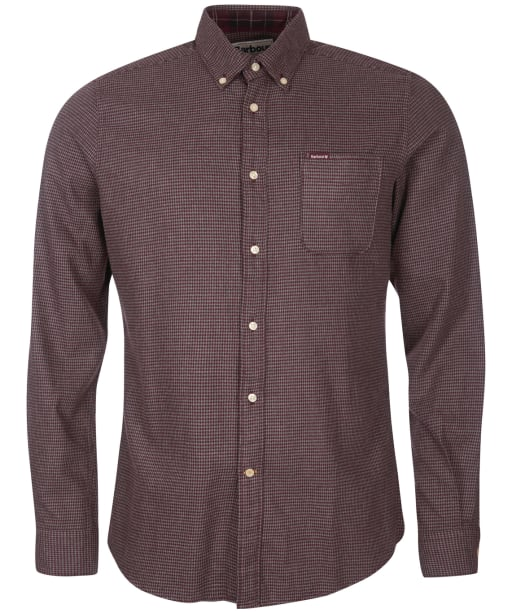Men's Barbour Coalford Tailored Shirt - Merlot