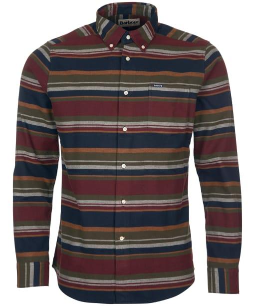 Men's Barbour Cornhill Tailored Shirt - Olive