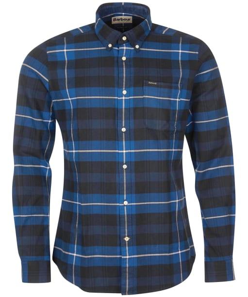 Men's Barbour Portdown Tailored Shirt - Black Check