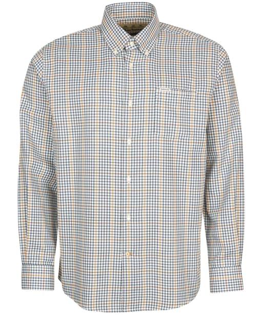 Men's Barbour Henderson Thermo Weave Shirt - Ecru Marl