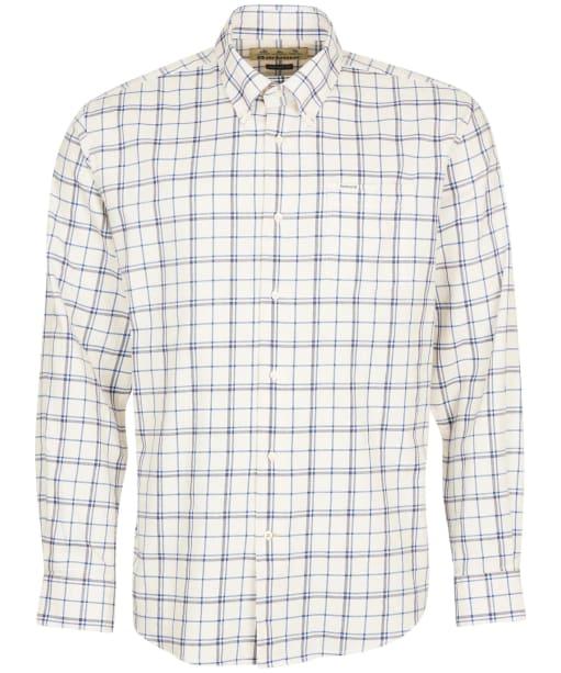 Men's Barbour Pelton Regular Fit Shirt - Ecru Marl