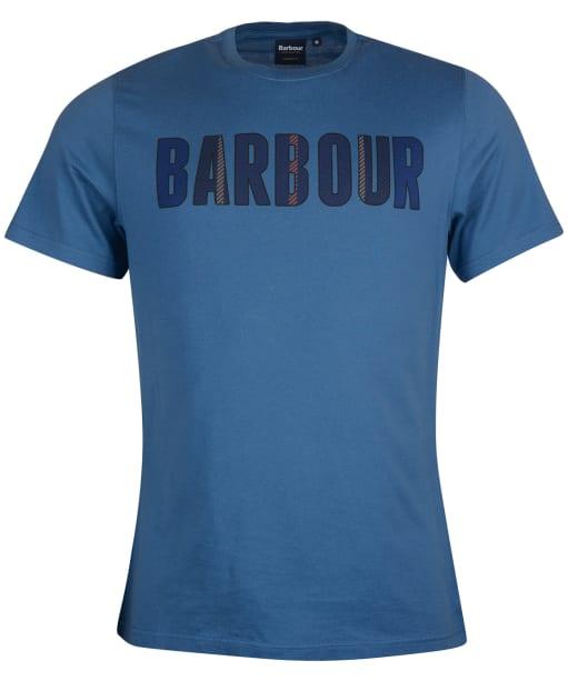 Men's Barbour Wallace Tee - Dark Denim