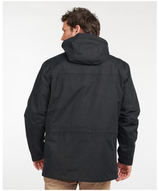 Men's Barbour Brockstone Waterproof Jacket - Black