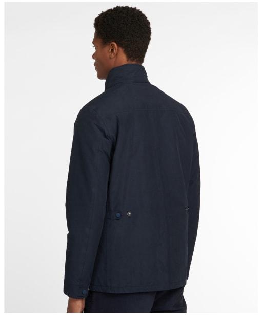 Men's Barbour Monmouth Waterproof Jacket - Navy