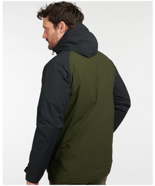 Men's Barbour Ambleton Waterproof Jacket - Black