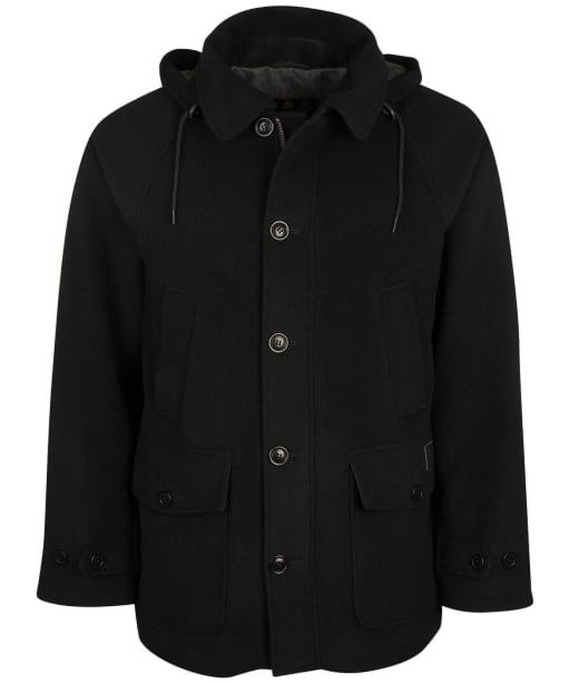 Men's Barbour Nautic Duffle Wool Parka - Black