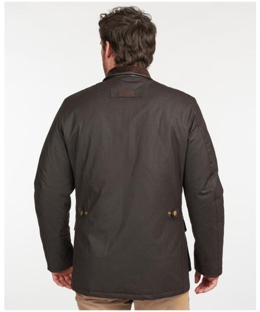 Men's Barbour Hereford Wax Jacket - Rustic