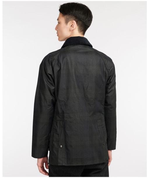 Men's Barbour SL Bedale Wax Jacket - Navy