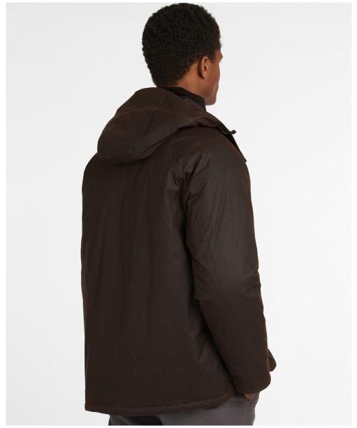Men's Barbour Winter Bedale Wax Jacket - Rustic