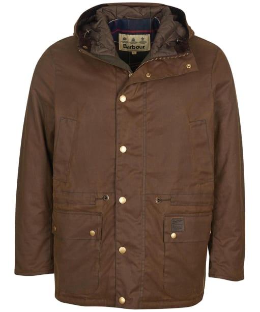 Men's Barbour Ripon Wax Jacket - Brown