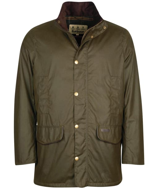 Men's Barbour Spencer Wax Jacket - Archive Olive