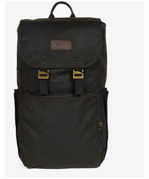 Barbour Traveller Wax Backpack - Olive