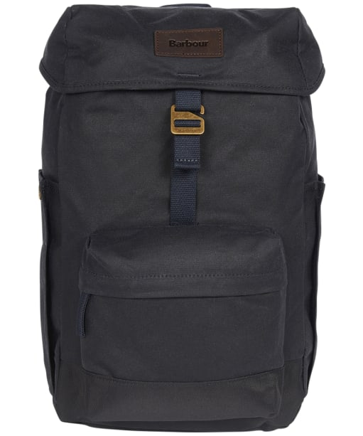 Barbour Essential Wax Backpack - Navy