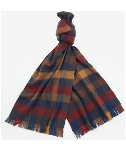 Barbour Nine Square Scarf - COUNTRY MIX