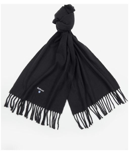 Barbour Plain Gallingale Scarf - Black