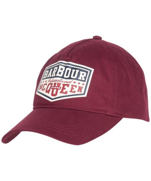 Barbour International SMQ Graphic Cap - Merlot