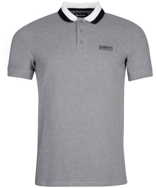 Men's Barbour International Ampere Polo - ANTHRACI MARL 2