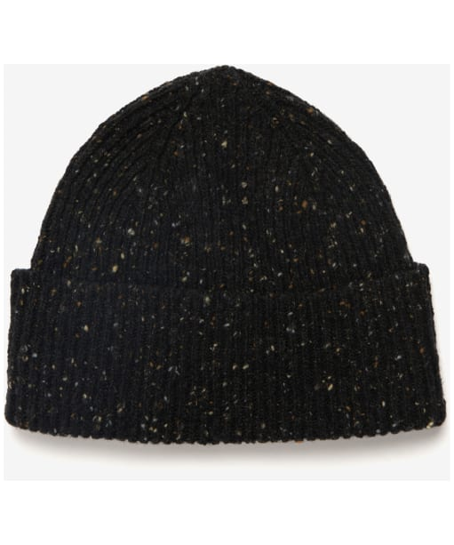 Men's Barbour Lowerfell Donegal Beanie Hat - Black