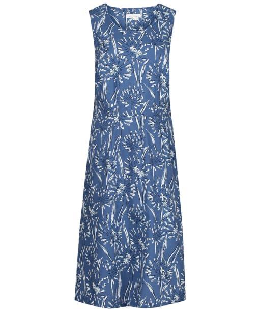 Women's Seasalt Quick Sketch Dress - Sketched Agapanthus Mussel