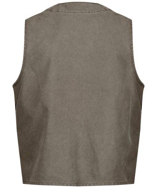 Men's Filson Dry Tin Cruiser Vest - Stone Brown