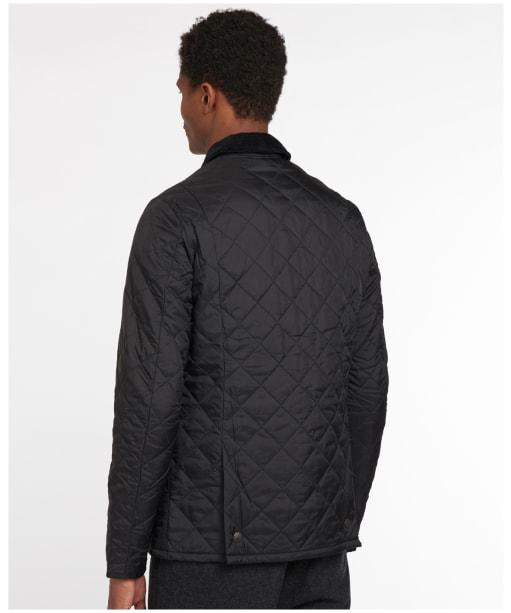 Men's Barbour Heritage Liddesdale Quilted Jacket - Black