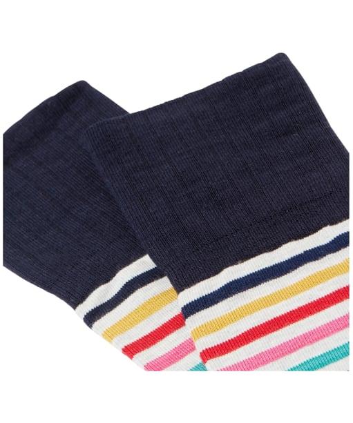 Women's Joules Nina Trussel Socks - Multi Stripe