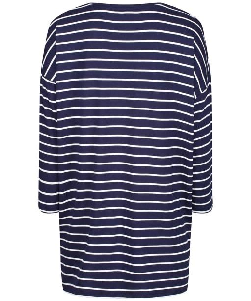 Women's Joules Leia Stripe Top - Navy / Cream Stripe