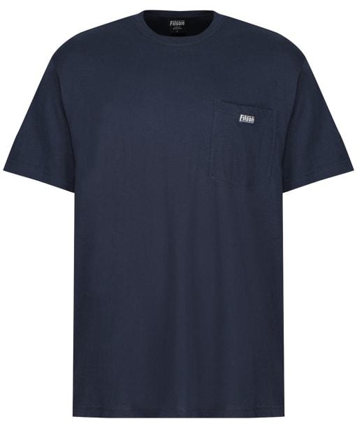 Men's Filson S/S Ranger Pocket T-Shirt - Harbour Blue