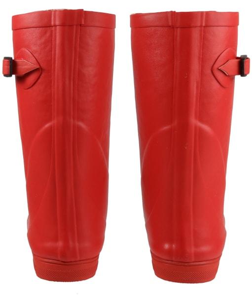 Children's Aigle Woodypop Fur 2 Boots - Cherry