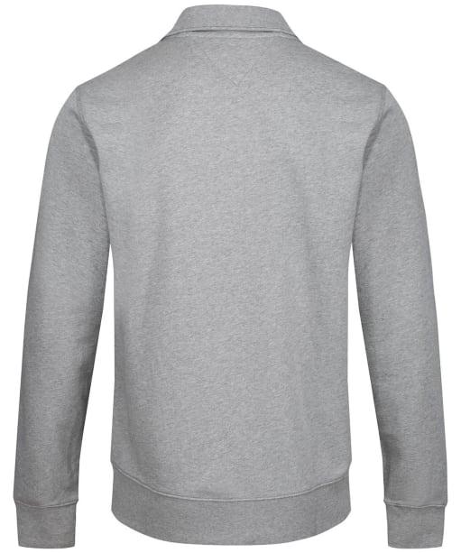 Men's Tommy Hilfiger Global Hilfiger Zip Through Sweater - Grey Heather