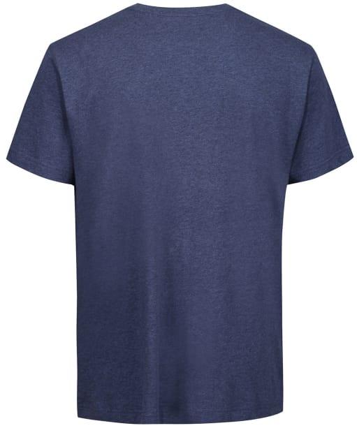 Men's GANT Archive Shield T-Shirt - Dark Jeansblue Melange