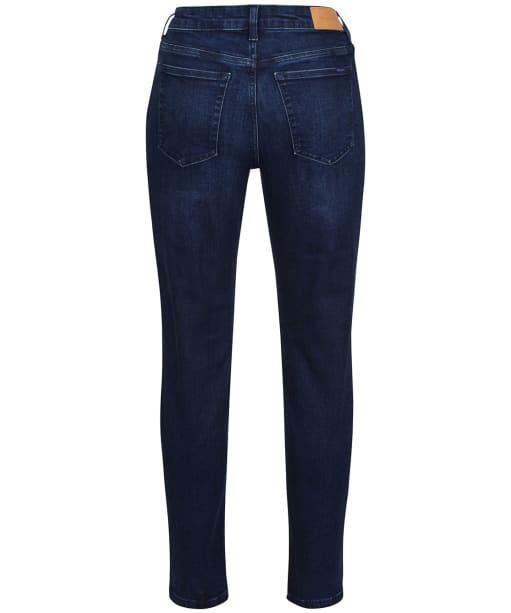 Women's GANT Farla Crop Jeans - Dark Blue Worn In