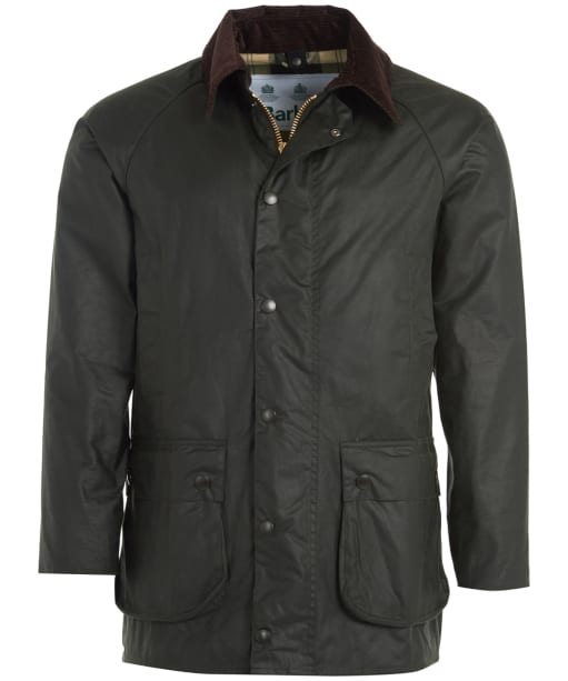 Men's Barbour SL Beaufort Wax Jacket - Sage