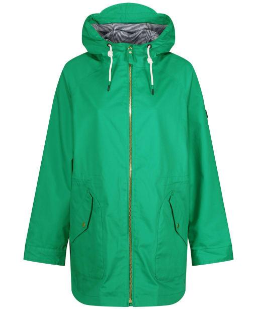 Women's Joules Shoreside Waterproof Coat - Green